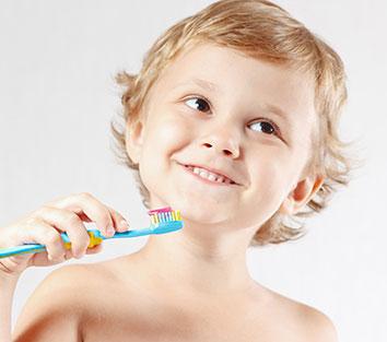 Gaining the habit of Tooth Brushing