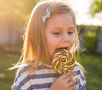 A breakthrough in prevention of tooth decays; lollipops
