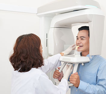 What is dental x-ray?
